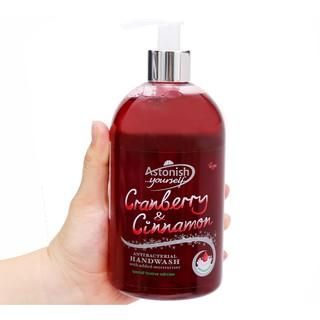 Nước rửa tay diệt khuẩn tinh chất Quế và Nam Việt Quất Astonish C4650 500ml Anh Quốc thumbnail