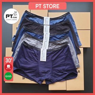 4 quần sịp đùi thun trơn co giãn 4 chiều MLQ10, hàng xuất Nhật, quần boxer nam bán chạy nhất năm