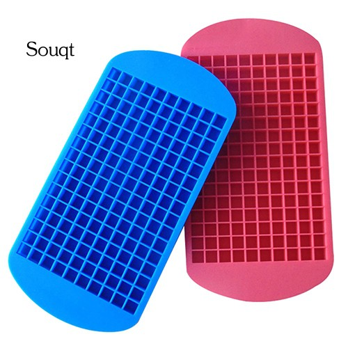 SQ New 160 Mini Ice Cubes Silicone Tray Kitchen Bar Pudding Mould Mold Tool