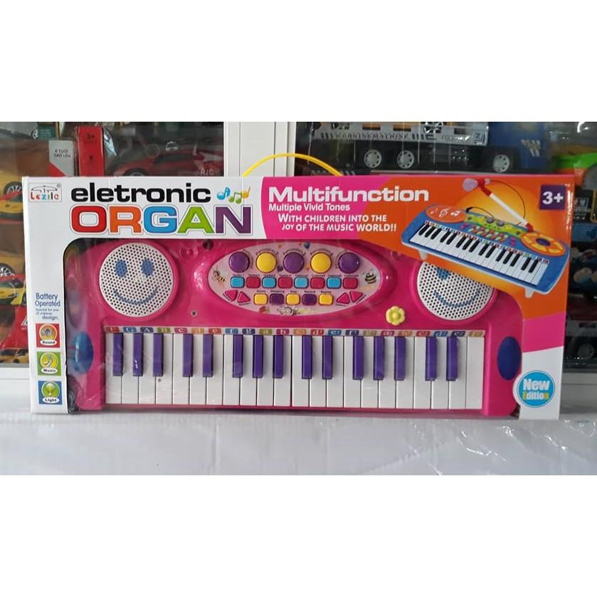Đồ chơi đàn nhạc ORGAN cho bé (có bàn phím + micro)