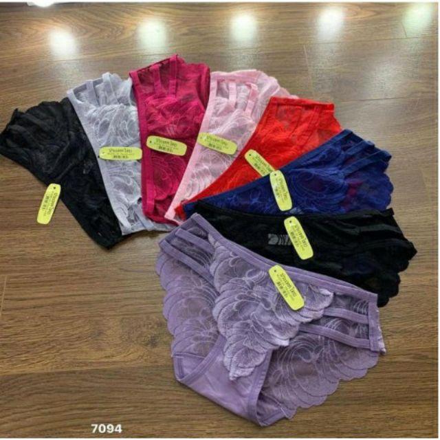 [ Hót] quần lót ren 3 dây cực đẹp 7094 sỉ combo 10 quần | BigBuy360