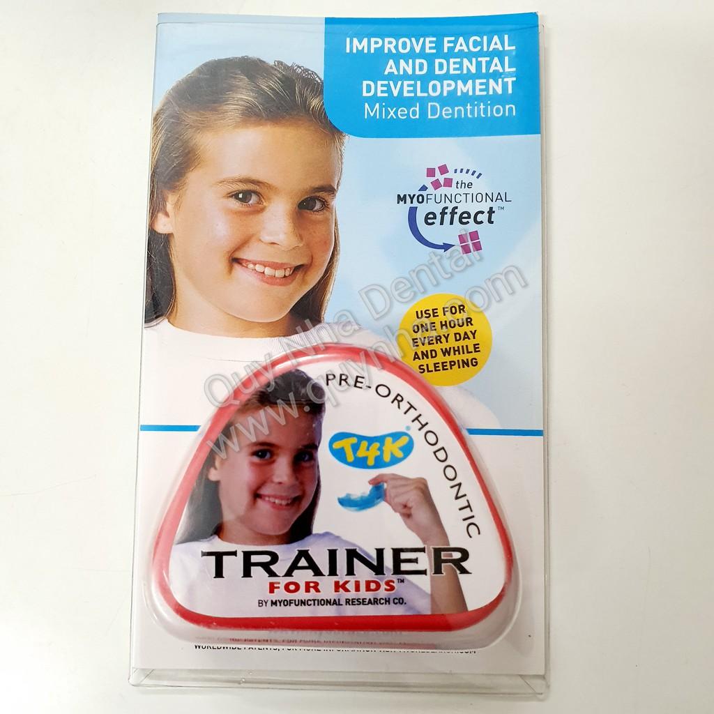 Hàm Trainer T4K - Máng chỉnh nha trẻ em