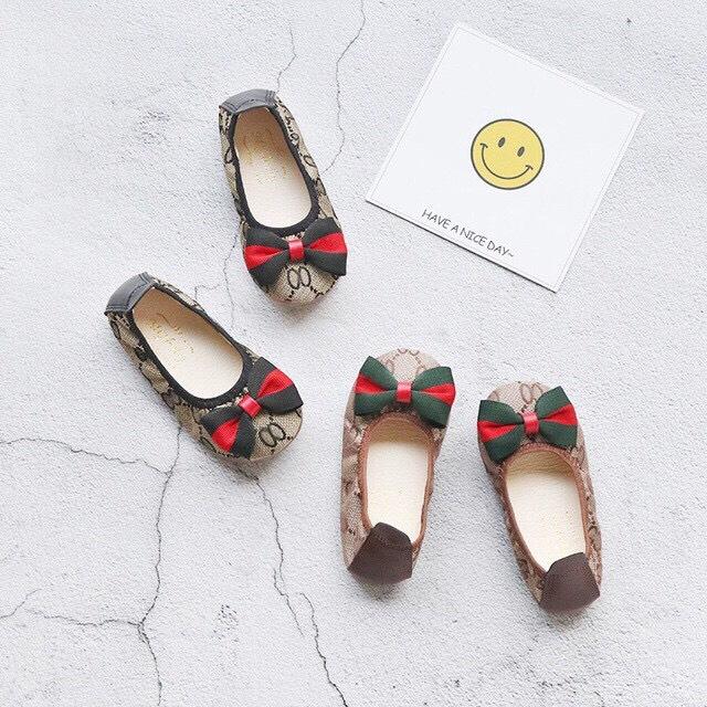 giày búp bê cho bé gái có nơ V215