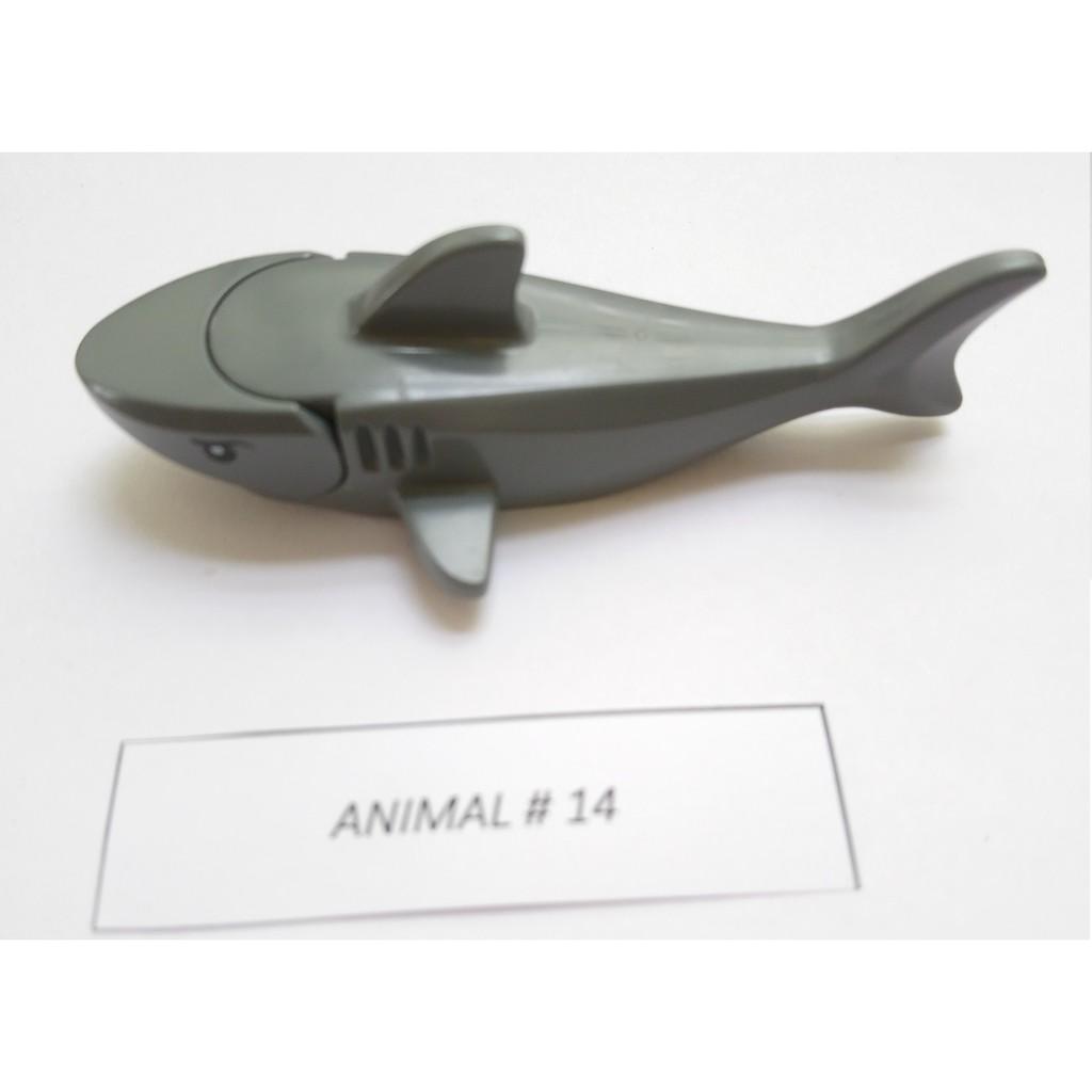 Nhân vật Lego Animal #14 Cá mập xám