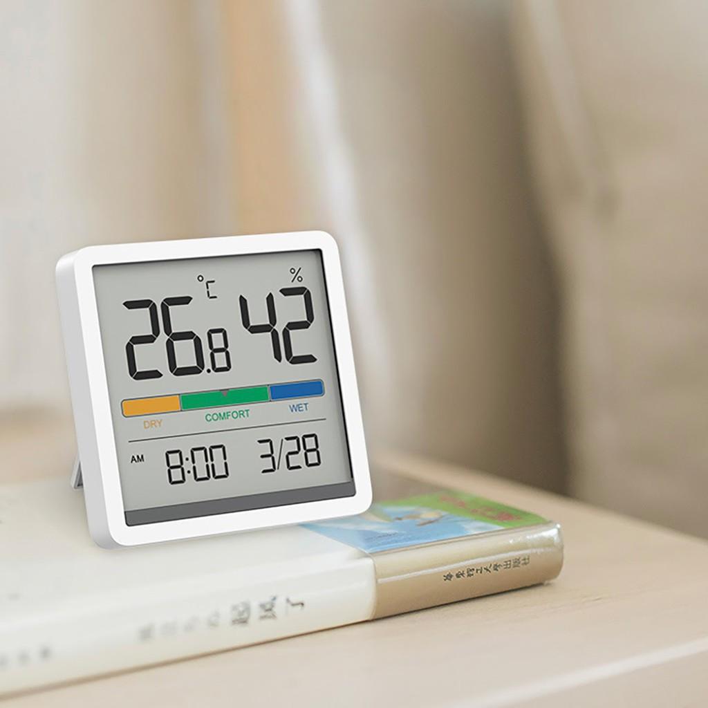 [2021] Đồng hồ Xiaomi, nhiệt ẩm kế MIIIW NK5253, màn hình lớn LCD 3.34 inch