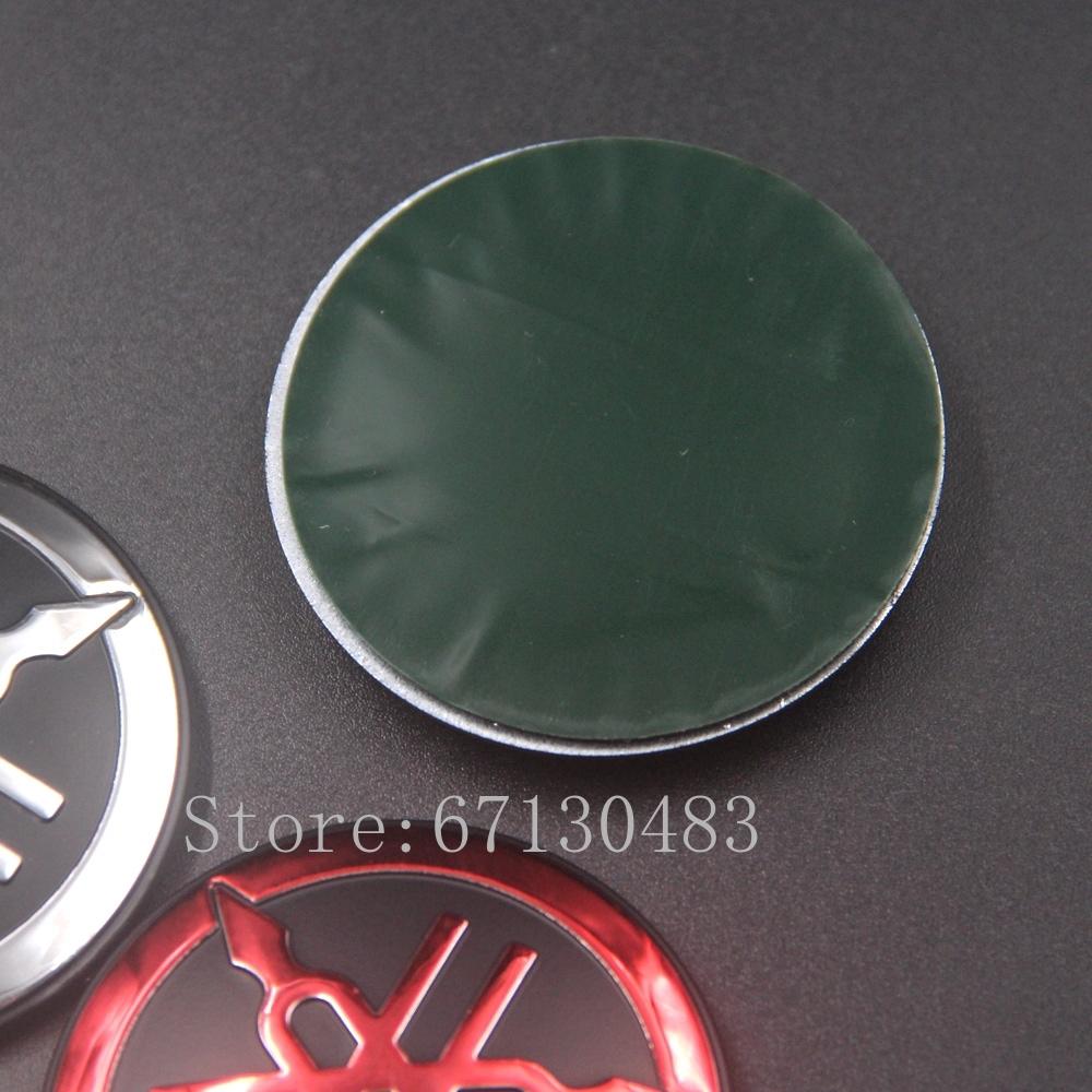 Logo yamaha 3D trang trí xe máy nhiều màu tùy chọn