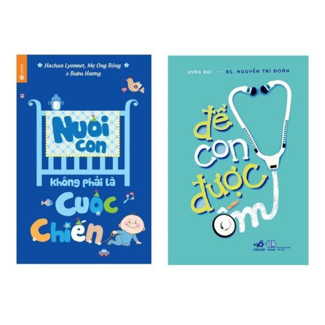 sách- Combo 4 cuốn Chat với bác sĩ, để con được ốm, nuôi con không phải.., con nghĩ đi mẹ không biết