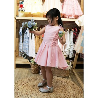 Đầm Mullet cột nơ hong-DTT13