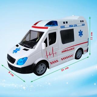 Xe cứu thương điều khiển từ xa 369-8