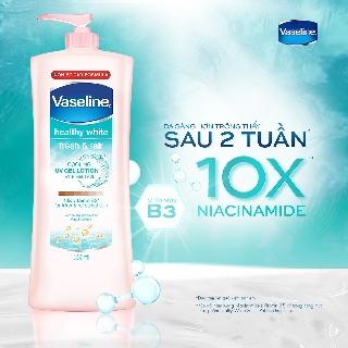 Hình ảnh Sữa dưỡng thể trắng da Vaseline 350ml-2