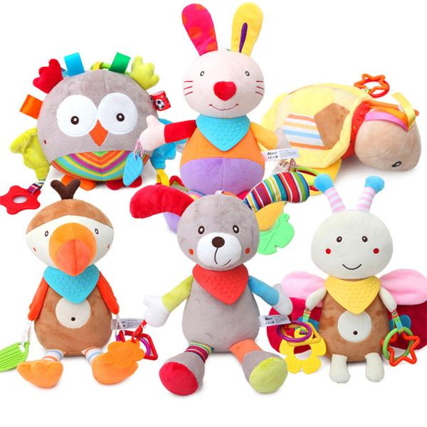 Stuffed Animal Toys Baby Toys Infants Teether Dolls Brinquedos Birthday Gift