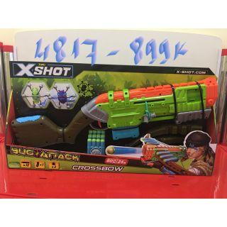 BỘ ĐỒ CHƠI CHIẾN BINH DIỆT BỌ – XSHOT – 4817