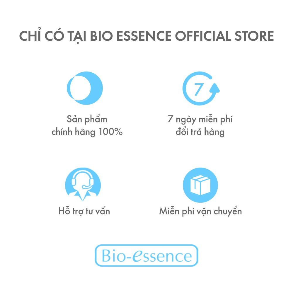 Nước khoáng dưỡng da ẩm mượt mịn màng Bio-Essence Bio-Water Energizing Water 100ml