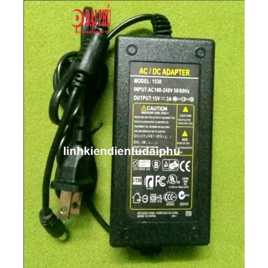 Adapter 15V 3A có đen led báo nguồn - 3089075 , 1248402082 , 322_1248402082 , 60000 , Adapter-15V-3A-co-den-led-bao-nguon-322_1248402082 , shopee.vn , Adapter 15V 3A có đen led báo nguồn