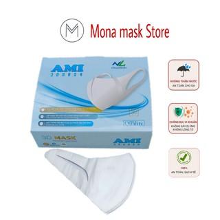 Khẩu trang 3D Mask công nghệ Nhật hộp 50c - Mona mask store thumbnail