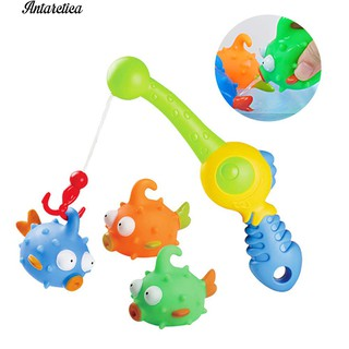 ♥♥♥Multi Float Squirts Fish Set Fish Bath Toddler Toys