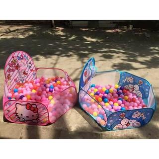 Lều bóng tặng kèm 100 quả bóng cho bé trai và gái FANDRUINO