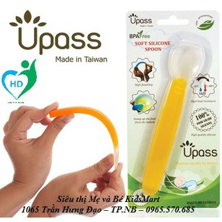 Upass - Bộ ba thìa ăn dặm Upass màu lá UP3174