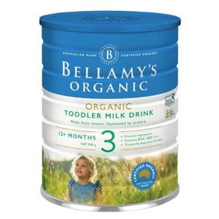 [ Mẫu Mới] Sữa Bellamy s Organic Số 3 - Số 1 - Số 2 - 900g Úc - Date 2 2022 thumbnail