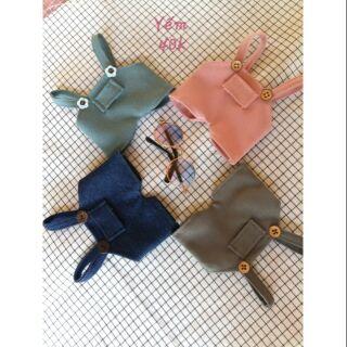 Yếm – Outfit doll 20cm
