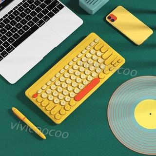 Bàn Phím Không Dây Mini Cho Macbook Pc thumbnail