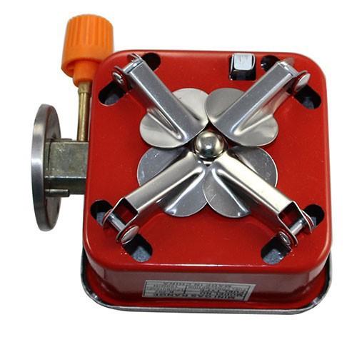 Bếp gas du lịch dã ngoại mini xếp gọn cắm trại dã ngoại leo núi tiện dụng - dùng được cho bình gas mini