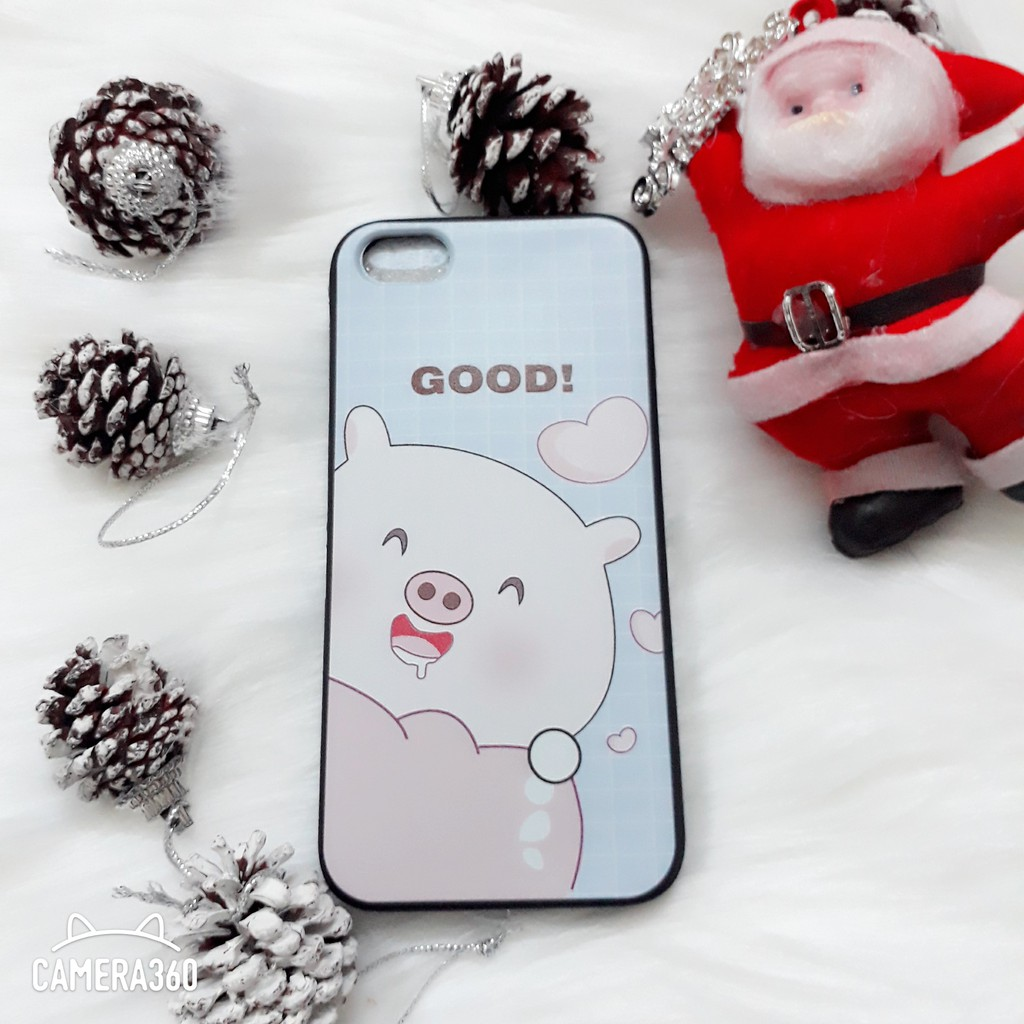 ỐP IPHONE LỢN CON ĐÁNG YÊU GOOD