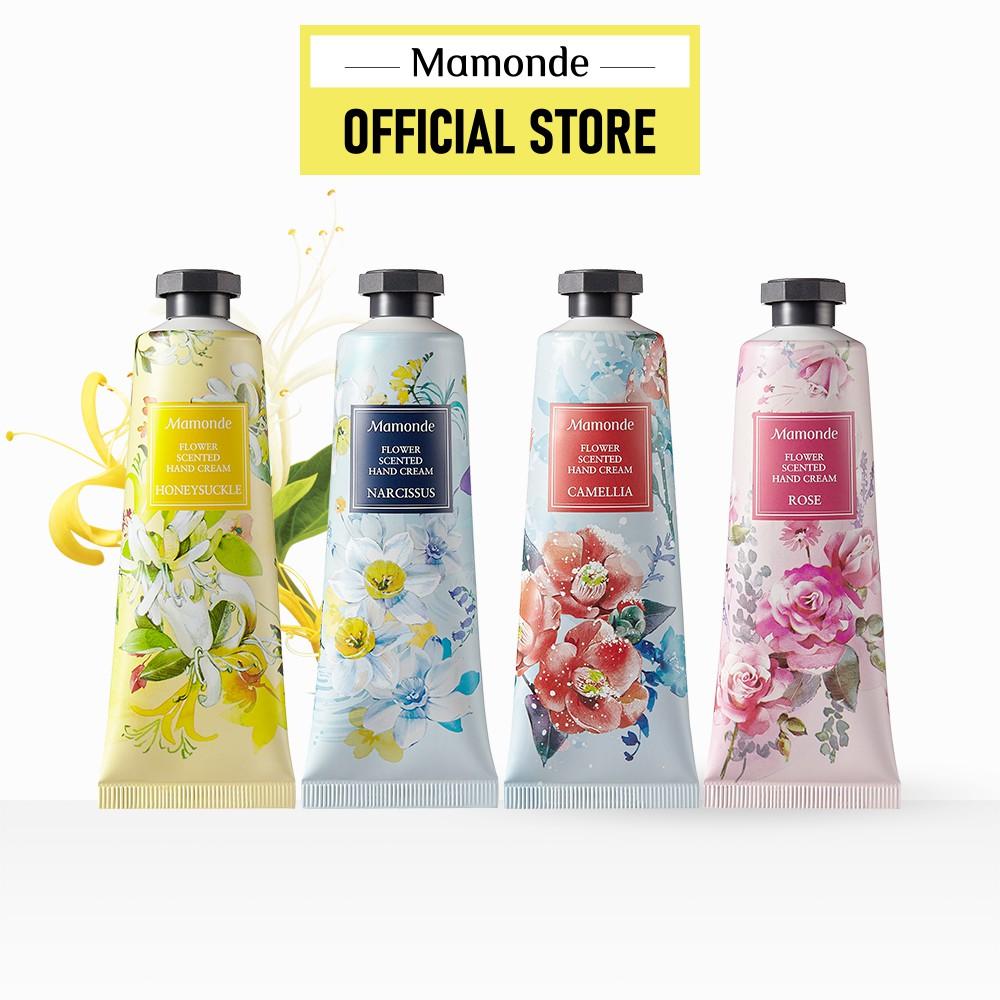 Kem dưỡng da tay hương hoa Mamonde Flower Scented Hand Cream 50ml (nhiều loại)
