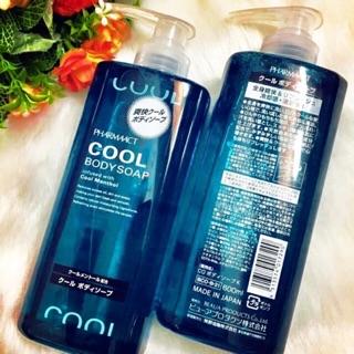 Sữa tắm nam Cool body soap của Nhật ( 600ml)