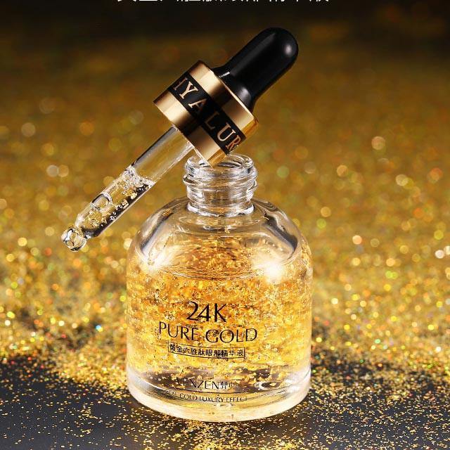 [Lấy mã giảm thêm 30%]Serum 24K Pure Gold Dưỡng Ẩm Và Nâng Cơ Mắt Venzen nhập khẩu
