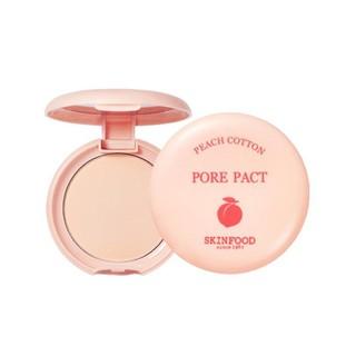 Phấn Phủ Nén Kiềm Dầu Skinfood Peach Cotton Pore Blur Pact 4g thumbnail