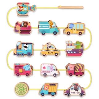 Bộ xỏ dây mô hình phương tiện giao thông Goryeo Baby