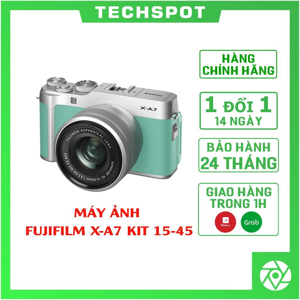 Máy ảnh Fujifilm X-A7 + 15-45mm   Chính Hãng