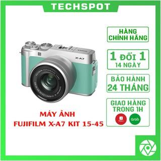 Máy ảnh Fujifilm X-A7 + 15-45mm | Chính Hãng