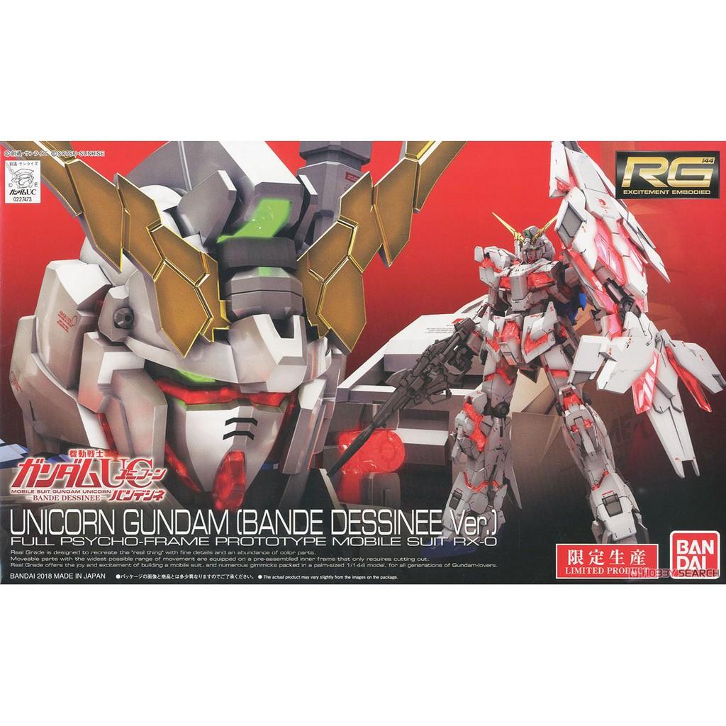 Mô hình Gundam RG Unicorn (Bande dessinee Ver)