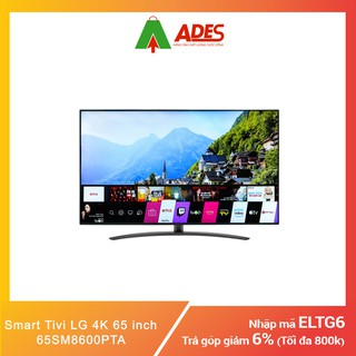 Smart Tivi LG 4K 65 inch 65SM8600PTA | Chính hãng, Giá rẻ