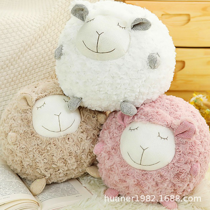 Thú Nhồi Bông Hình Chú Cừu Đáng Yêu