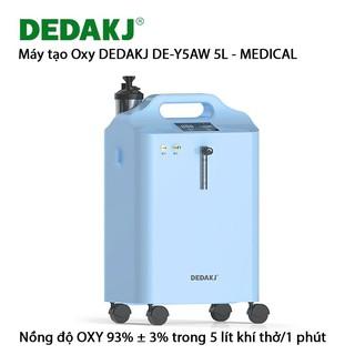 Máy tạo Oxy y tế máy tạo khi DEDAKJ DE-Y5AW 5L có chức năng xông mũi họng thumbnail