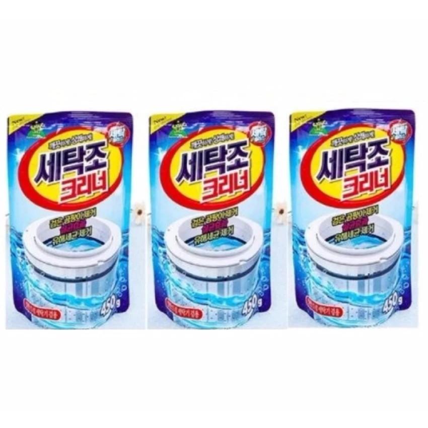 Bộ 3 gói bột tẩy vệ sinh lồng máy giặt 450g cao cấp - 3205980 , 341431426 , 322_341431426 , 270000 , Bo-3-goi-bot-tay-ve-sinh-long-may-giat-450g-cao-cap-322_341431426 , shopee.vn , Bộ 3 gói bột tẩy vệ sinh lồng máy giặt 450g cao cấp