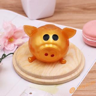 12❀ Creative Adult Decompression Toy Cartoon Pig Head Fidget Pressure Vent Ball