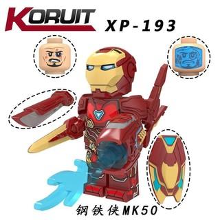 Minifigure mô hình Iron Man MK50 phiên bản ENDGAME XP193