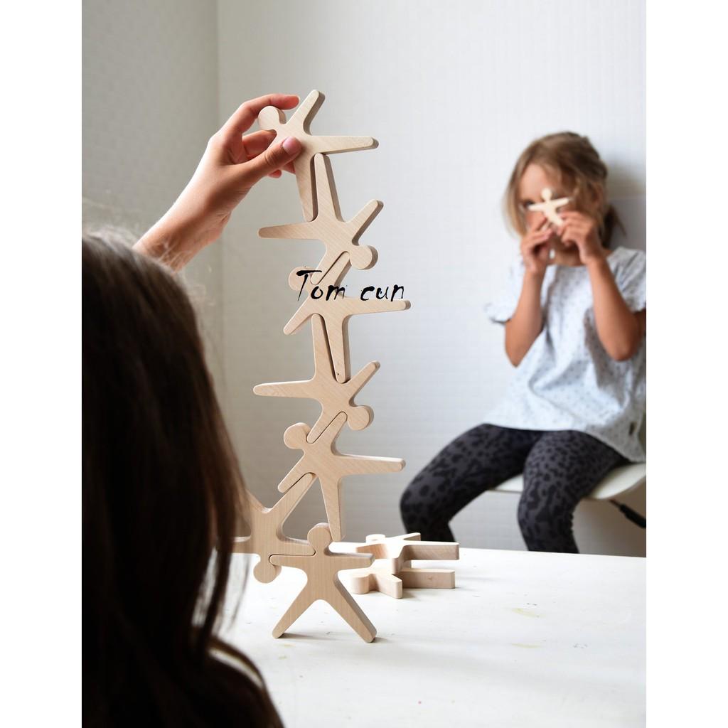Set đồ chơi xếp hình bằng gỗ thông minh đến từ Nhật Bản