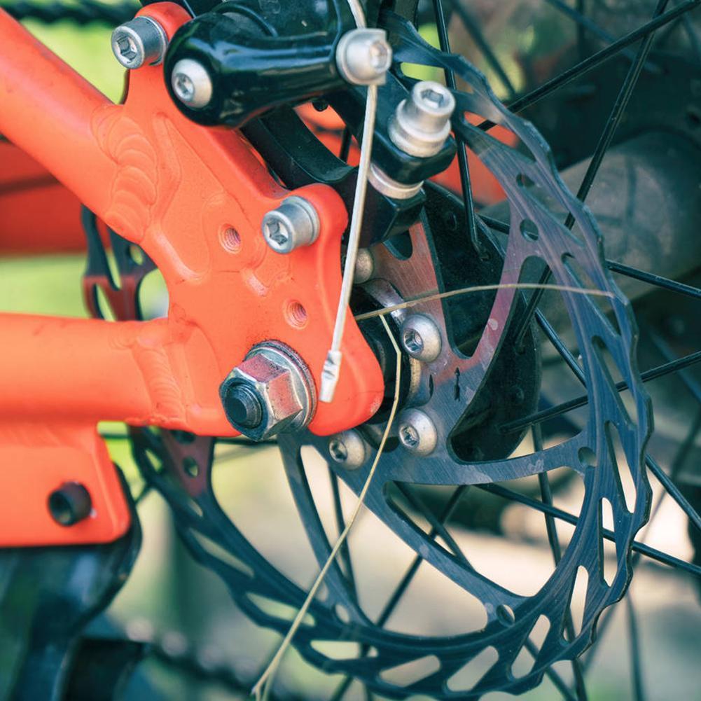 160mm Portable Aluminium Alloy Mountain Bikes Bicycle Brake Disc Riding Accessories