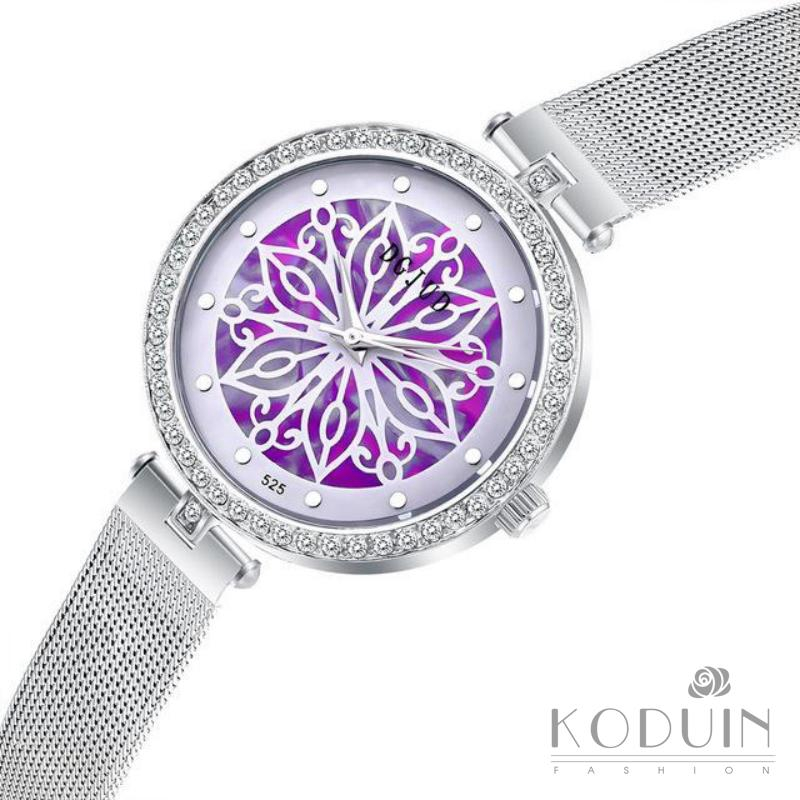 KODUINElegant Women Watches New Fashion Ladies Watch Student Diamond Watches