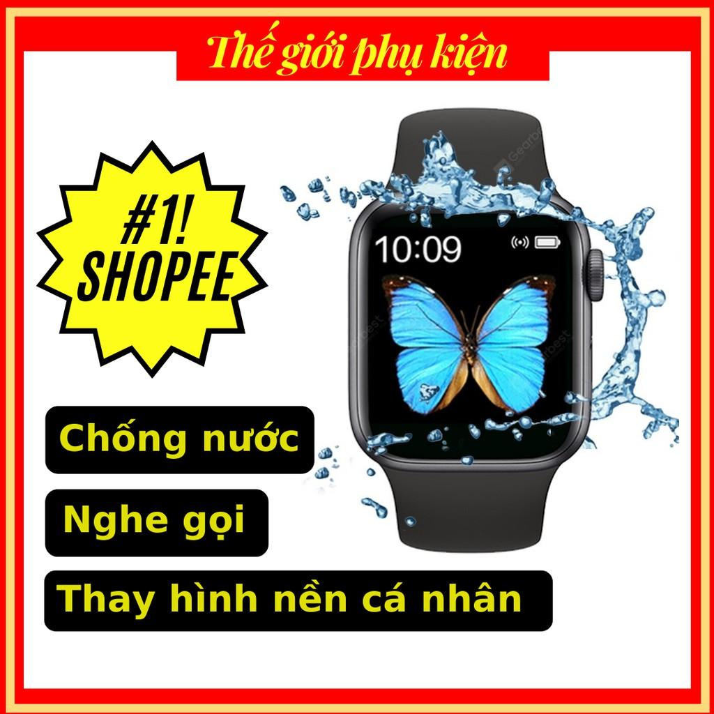 Apple Watch T500 Seri 5💕 Giảm 15k Smart watch khi nhập [ MGG] 💕 Đồng hồ thông minh thời trang chống nước