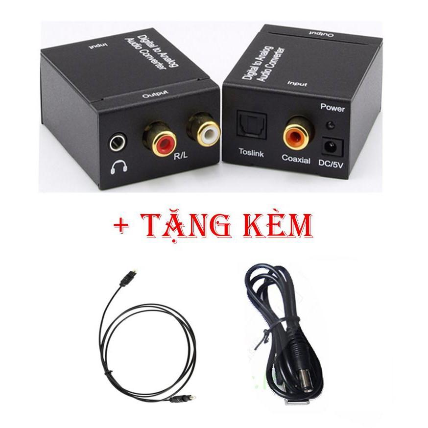 Bộ chuyển âm thanh quang học Optical có cổng output 3.5mm