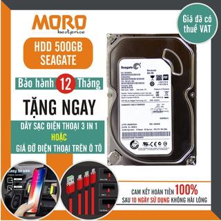 [Mã ELMS05 giảm 5% đơn 300K] Ổ cứng HDD Seagate 500GB (Tháo máy đồng bộ - mới trên 90%) - Bảo hành 12 tháng 1 đổi 1