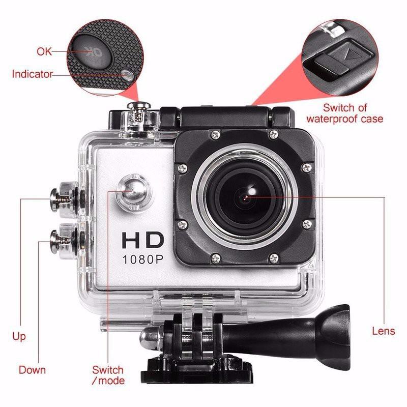 Camera hành trình thể thao Sport A9 Full HD 1080 (Chống nước)