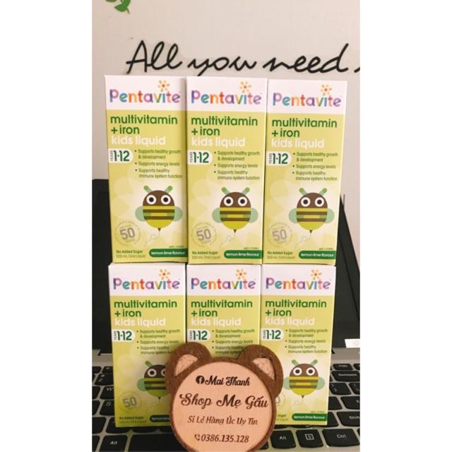 Vitamin tổng hợp Pentavite cho bé 1-12M