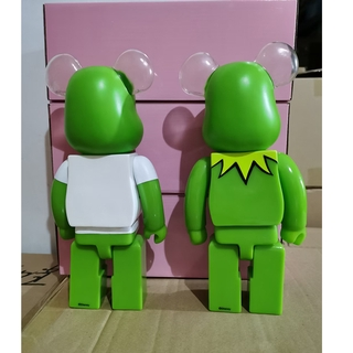 popular Jointly Kermit Frog 400% Street Fashion Bearbrick Action Figure Toy